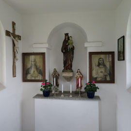 Blick in die Kapelle Gonnersdorf
