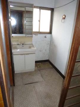 リフォーム前洗面所