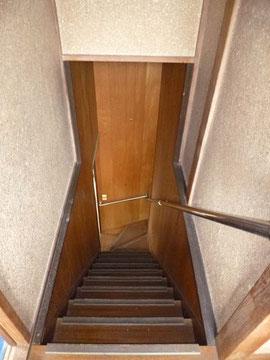 リフォーム前階段まわり