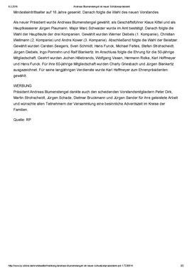 Andreas Blumenstengel ist neuer Schützenpräsident