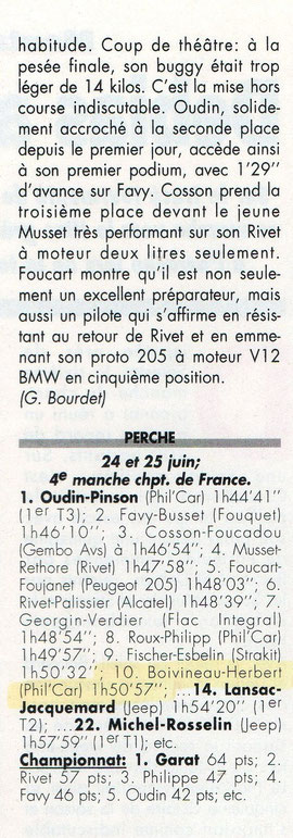 1995 - Le Perche