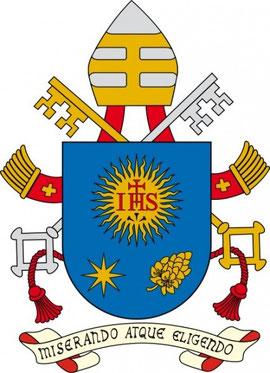 Wappen Papst Franziskus römische Kurie