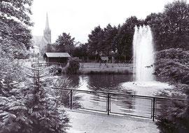 dudweiler, park, stadtpark, 1936, winterbach