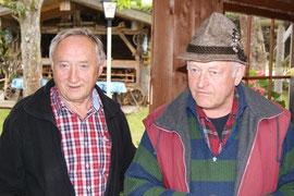 Wolfgang Seidl (li) und Reinhard Kollmer - unsere beiden 2. Vorsitzenden
