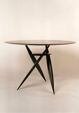 "TABLE TRIPODE ""SOLSTICE"" 1993"