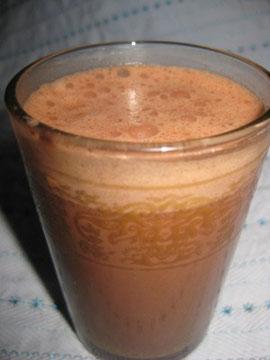 Macao-Kakao mit Hafermilch