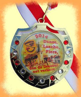 Karnevalsorden Spielmannszug Echo Niederdrees 2014