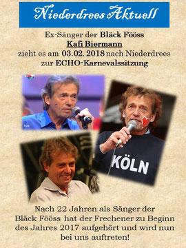 Kafi Biermann kommt am 03.02.2018 nach Niederdrees