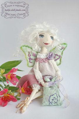 Авторская текстильная кукла. Фея