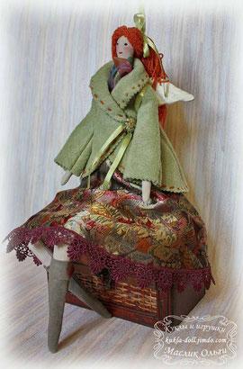 Текстильная кукла Тильда. Фея