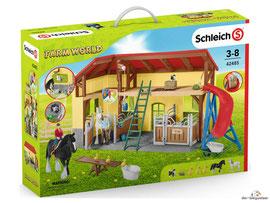 Empfehlung Schleich Pferdestall 42485