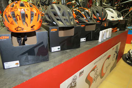 casques vtt , route , bmx , juniors