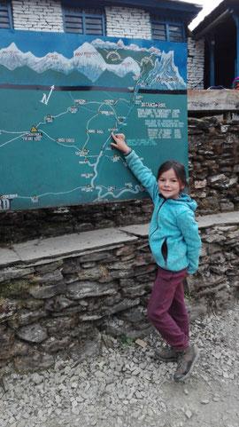 Miriam plant schon unsere nächste Tour. Dann soll bitteschön auch ein schneebedeckter Berg dabei sein...