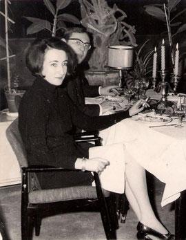 Die Autorin im Grand Hotel Balin, Ankara/Türkei, in der Epoche der dramatischen Ereignisse. Hier: im Januar 1970