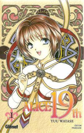 Alice 19th est un manga de type shôjo et de genre romantique, fantastique et Magical Girl. Alice découvrira avec son compagnon le lapin blanc des mondes fantastiques! source: https://www.bedetheque.com/BD-Alice-19th-Tome-1-26249.html