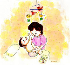 小児はりの治療サイクル