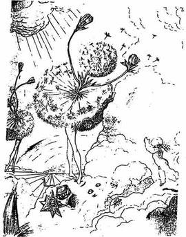 La danse du Pissenlit de Salvador Dali