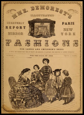1860 Illustrated Mirror of Fashions