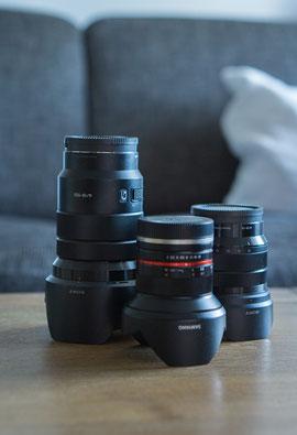 Sony Kamera Objektive