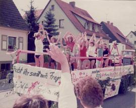 Teilnahme Kirmes Twiste 1983