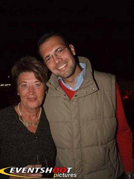 mit Renate Angerer (Bezirksvorsteherin)