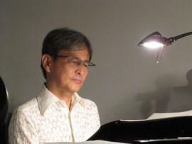 ピアノは久保田さん