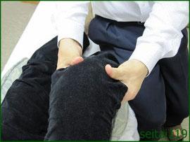 膝の内側に痛みがでる時は早めの治療をおすすめします。