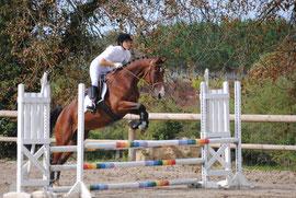 Zorban (kwpn) et moi en concours 2010