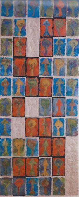 """""""Mein Freund der Baum"""", 63 x 150 cm"""