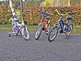 ferienbauernhof fahrräder für kinder