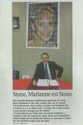 Progrès de Lyon 6 Octobre 2010