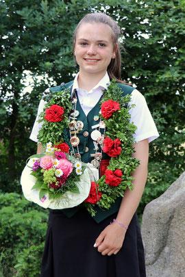 Schülerkönigin Nathalie Busse