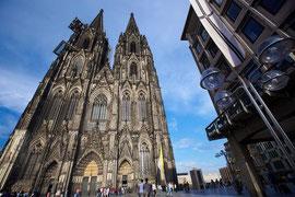 ゴシック様式の大聖堂。