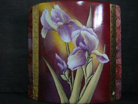 Pied de lampe iris