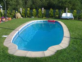 piscinas de poliester ovalada S 307
