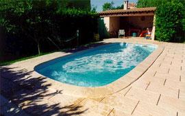 piscinas de poliester ovalada S 720