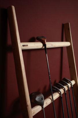 Scala a pioli in legno per arredamento - Wood ladder for bath and interior decor