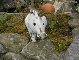 Pottery, celtic, wild pig. Monte Santa Trega, A Guarda, Pontevedra, Galicia