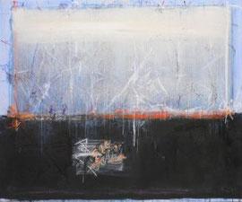 WEISSES LICHT, Mischtechnik auf Leinwand, 100 x 120 cm, 2005