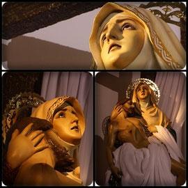 Virgen de La Piedad.