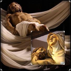 Cristo Yacente y La Piedad.
