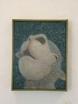出品作品 ≪迷い≫キャンバス、アクリル絵具
