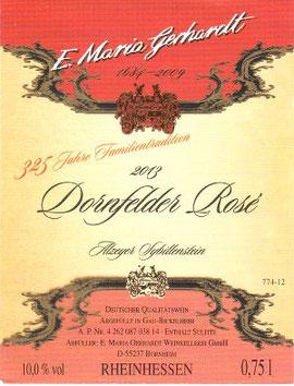 Dornfelder Rosé lieblich Sommerwein