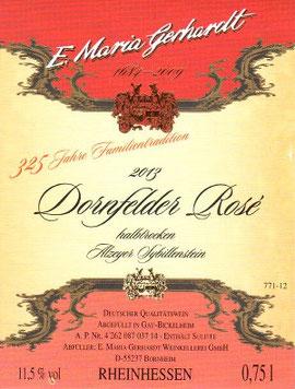 Dornfelder Rosé Sommerwein halbtrocken