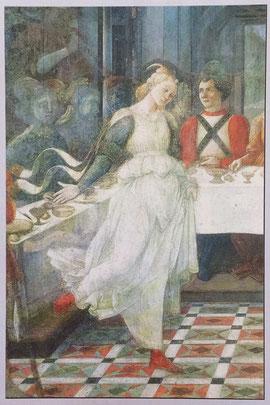 Prato - Danse de Salomé (détail - Fra' Lippi)