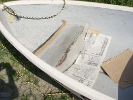 ボート修理