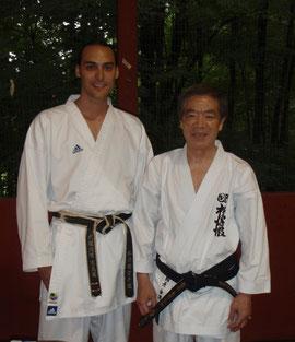 XB & Master Hirokazu Kanazawa (10th dan)