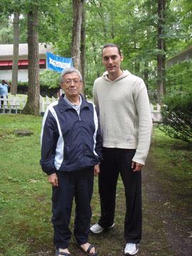 XB & Master Teruyuki Okazaki (10th dan)