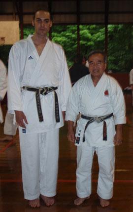 XB & Master Masaru Miura (9th dan)