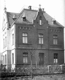 Pfarrhaus um 1937